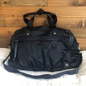 Lululemon Reflective Urban Warrior Duffel Bag